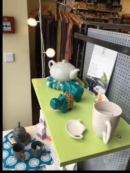 Dekovorschlag Tee/Geschirr